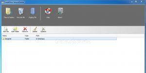 TweakNow SecureDelete Ekran Görüntüsü