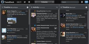 TweetDeck Ekran G�r�nt�s�