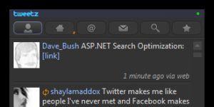 Tweetz Ekran Görüntüsü