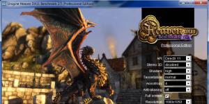 Unigine Heaven Benchmark Ekran Görüntüsü