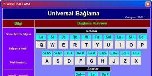 Universal BAGLAMA Ekran Görüntüsü