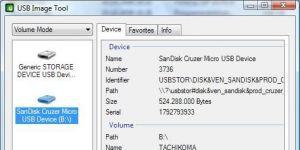 USB Image Tool Ekran Görüntüsü