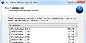 Utilu Mozilla Firefox Collection Ekran Görüntüsü