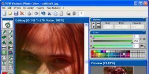 VCW VicMan's Photo Editor PRO Ekran Görüntüsü