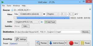 VidCoder Ekran Görüntüsü