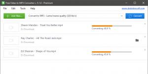 Free Video to MP3 Converter Ekran Görüntüsü