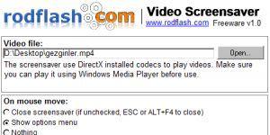 Video Screensaver Ekran Görüntüsü