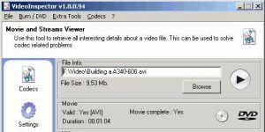 VideoInspector Ekran Görüntüsü