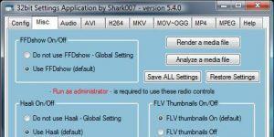 Vista Codec Package Ekran Görüntüsü