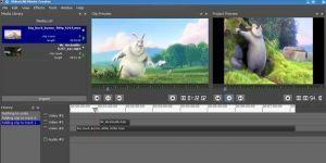 VLMC VideoLAN Movie Creator Ekran Görüntüsü