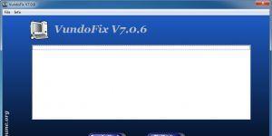 VundoFix Ekran Görüntüsü