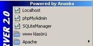WampServer Ekran Görüntüsü