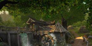 Watermill 3D Screensaver Ekran Görüntüsü