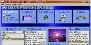 Web Album Creator Ekran Görüntüsü