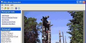 Web Album Generator Ekran Görüntüsü