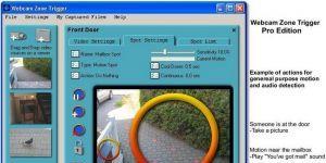 Webcam Zone Trigger Ekran Görüntüsü
