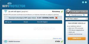 WiFi Protector Ekran Görüntüsü