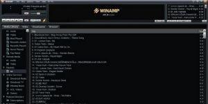 Winamp Ekran Görüntüsü