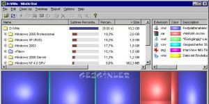 WinDirStat Ekran Görüntüsü