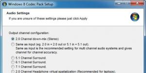 Windows 10 Codec Pack Ekran Görüntüsü