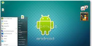 Windows 7 Android Theme Ekran Görüntüsü