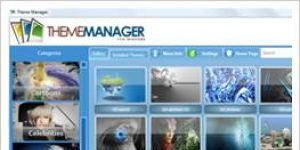 Windows 7 Themes Manager Ekran G�r�nt�s�