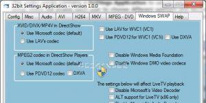STANDARD Codecs Ekran Görüntüsü