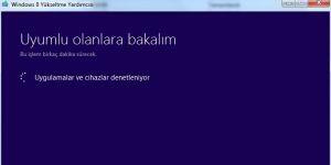 Windows 8 Yükseltme Yardımcısı Ekran Görüntüsü