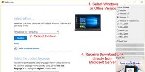 Windows ISO Downloader Ekran Görüntüsü