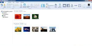 Windows Live Fotoğraf Galerisi  Ekran Görüntüsü
