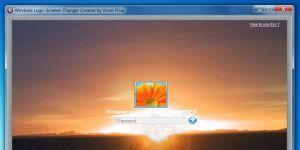 Windows Login Screen Changer Ekran Görüntüsü