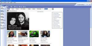 Windows Media Player 9 Ekran Görüntüsü