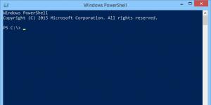 Windows PowerShell Ekran Görüntüsü