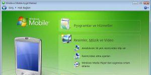 Windows Vista Mobile Aygıt Merkezi Ekran Görüntüsü