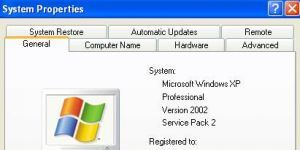 Windows XP Service Pack 2 Ekran G�r�nt�s�