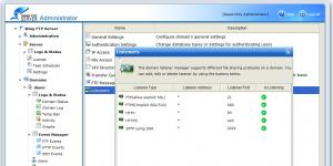 Wing FTP Server Ekran Görüntüsü