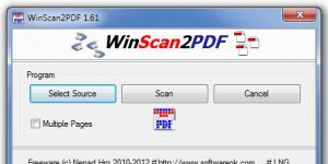 Winscan2PDF Ekran Görüntüsü