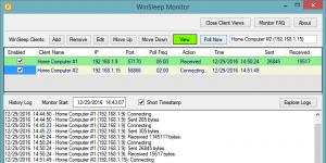 WinSleep Monitor Ekran Görüntüsü