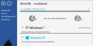 WinUSB Ekran Görüntüsü