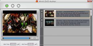 WinX DVD Author Ekran Görüntüsü