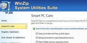 WinZip System Utilities Suite Ekran Görüntüsü