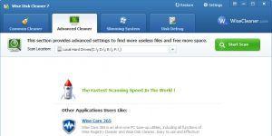 Wise Disk Cleaner Free Ekran Görüntüsü