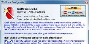 WizMouse Ekran Görüntüsü