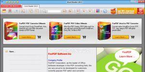 FoxPDF Word Reader Ekran Görüntüsü