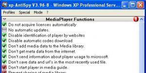 XP-Antispy Ekran Görüntüsü