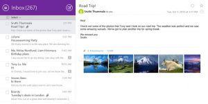 Yahoo! Mail Ekran Görüntüsü