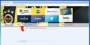 Yandex.Browser Fenerbahçe Ekran Görüntüsü
