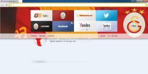 Yandex Browser Galatasaray Ekran Görüntüsü