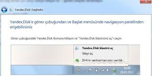 Yandex.Disk Ekran Görüntüsü