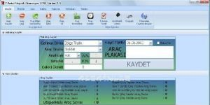 7 Emin Otopark Otomasyon Ekran Görüntüsü